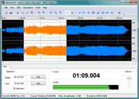 Audio Editor Screenshot
